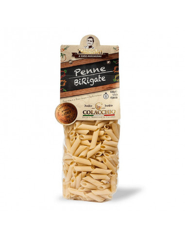 COLACCHIO MAKARON PENNE BRIGATE 500G