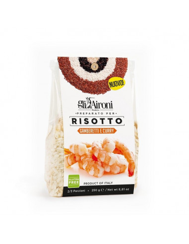 AIRONI RISOTTO Z KREWETKAMI I CURRY