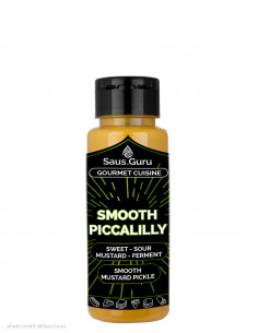 saus guru sos gourmet smooth piccalilly 250ml