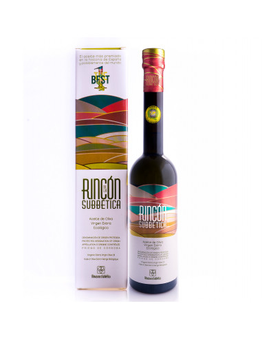 ALMAZARAS de la SUBBETICA  - RINCON DE LA SUBBETICA DOP BIO OLIWA Z OLIWEK EXTRA VIRGIN, 500ML